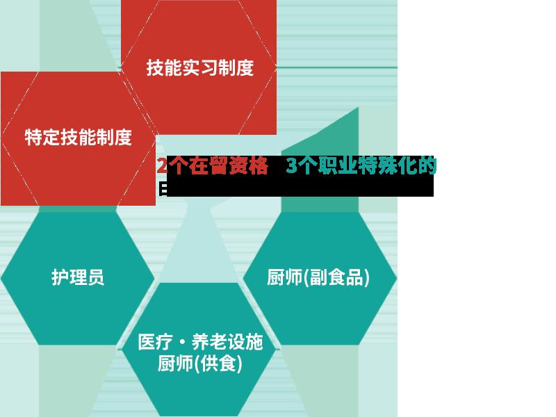 2个在留资格×3个职业特殊化的日本亚洲医疗福利集团的全面支持。